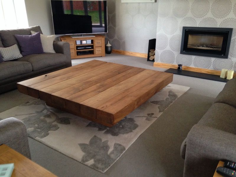 Square Ica Table Large Coffee Tables Ireland