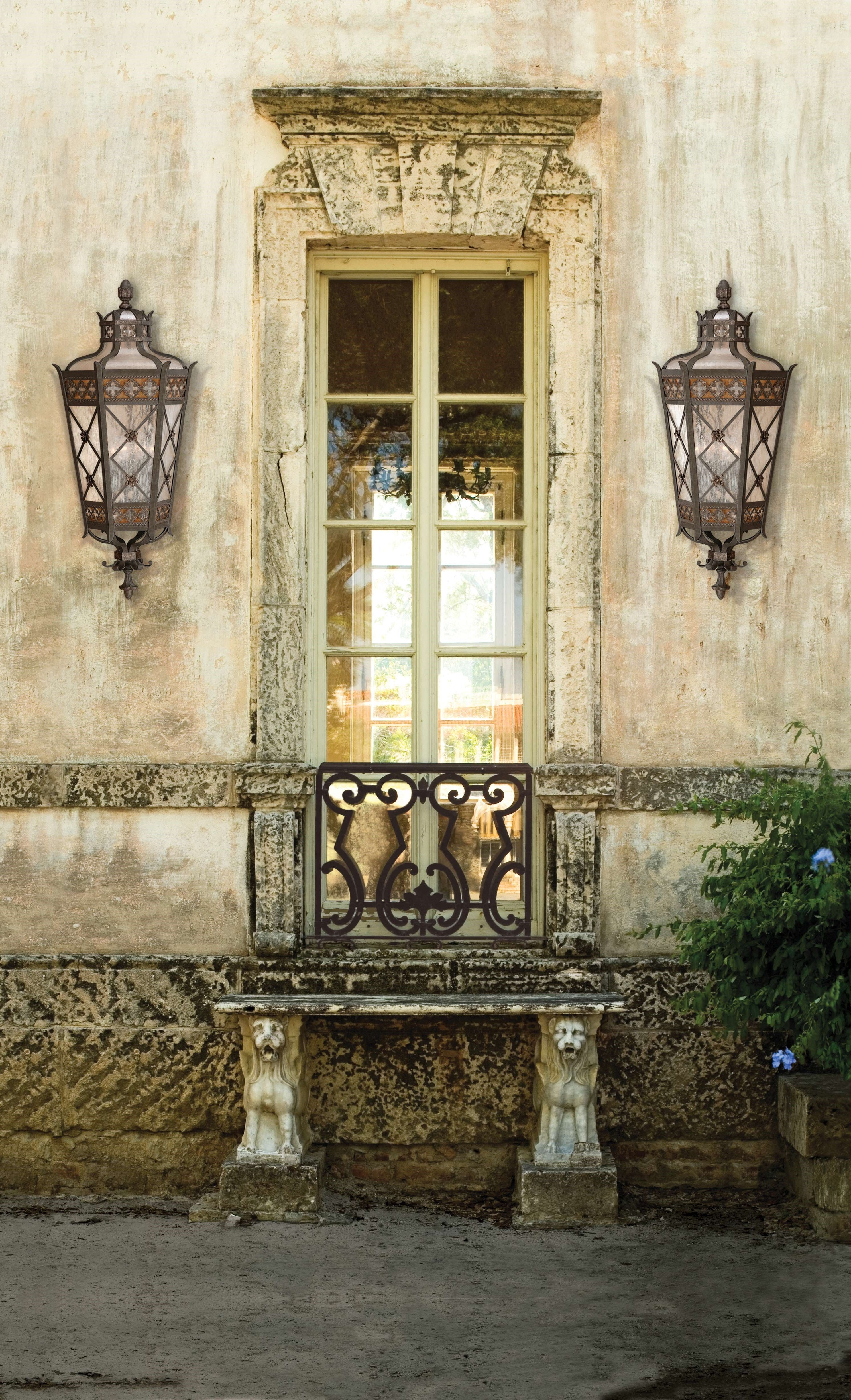 Chateau Outdoor Top Mount Wall Light by Fine Art Lamps ...