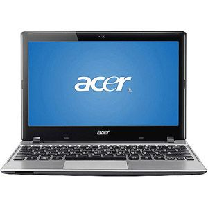 """Acer Feather 11.6"""" Aspire One Laptop PC with Intel Celeron 847 Processor and Windows 8 Operating System (Assorted Colors)..in silver..the one I'd get. $268.00"""