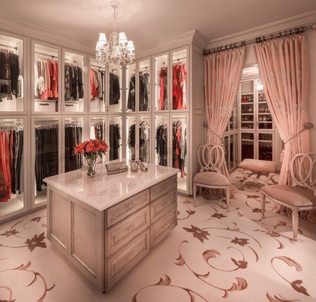 15 Elegant Luxury Walk In Closet Ideas To Store Your Clothes In