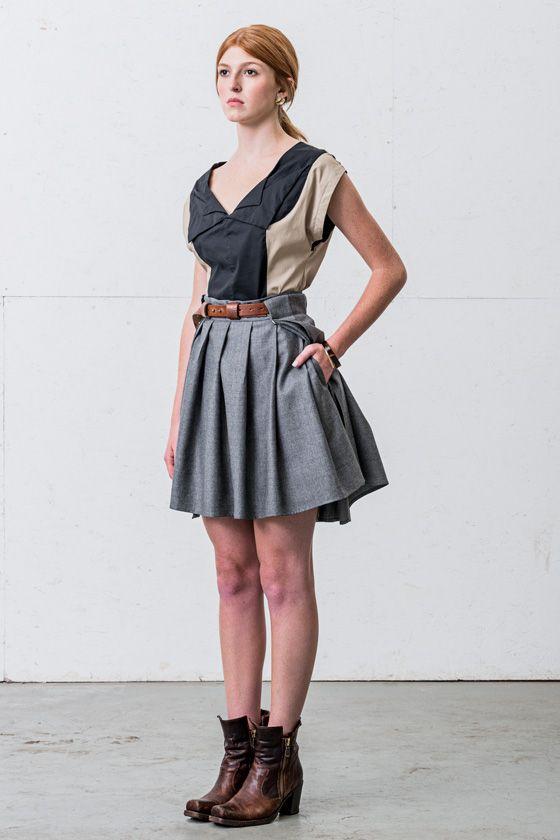 Harmattan top/Föhn skirt
