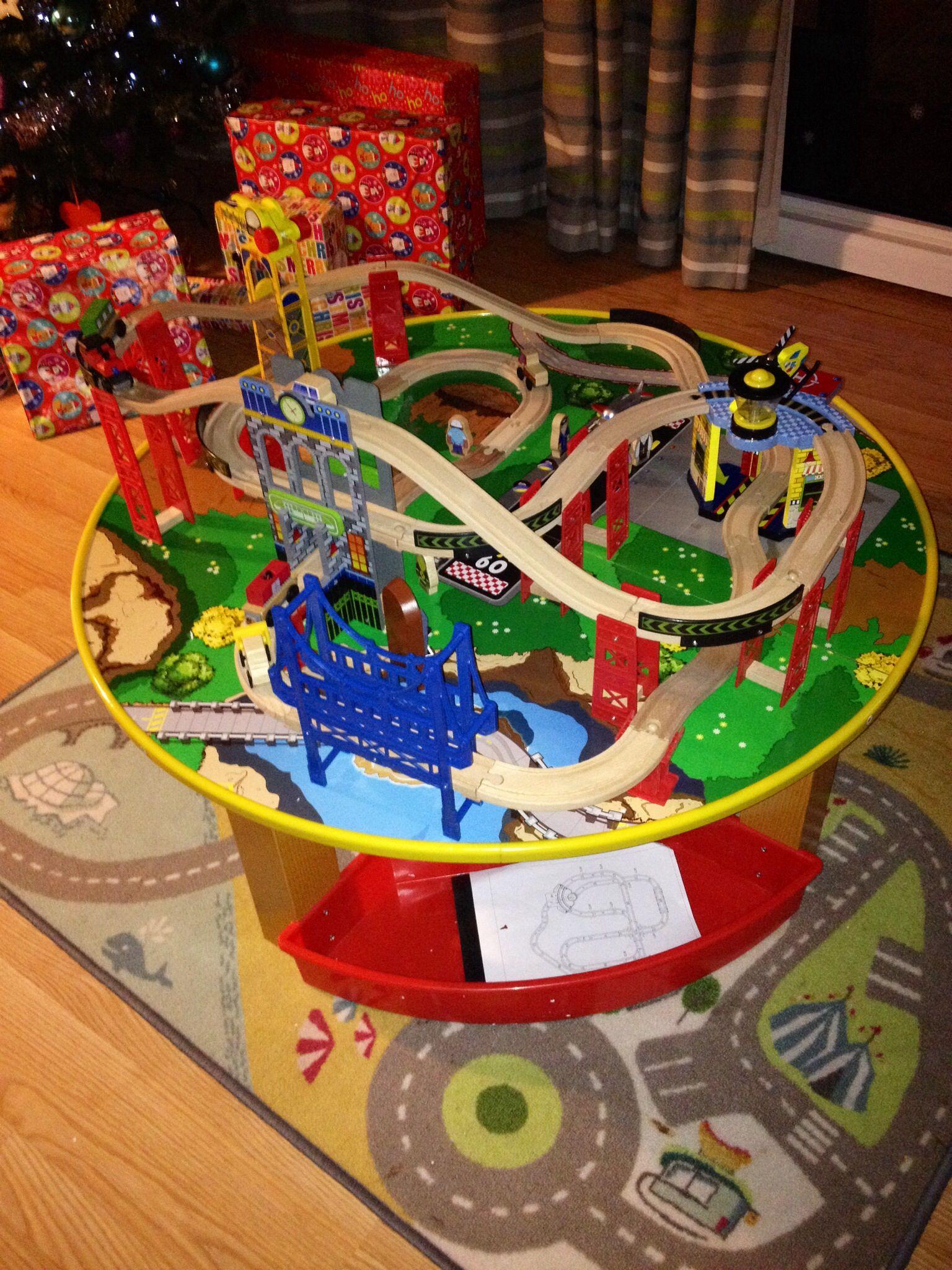 Kidkraft austin toy box natural 14953 - Kid Kraft Round Train Table