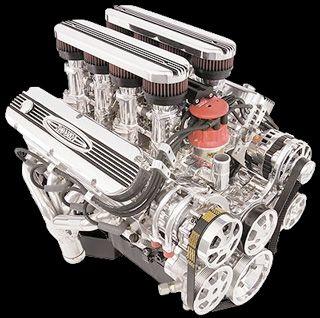 Roush Engine 402ir 5 8l 9 5 Deck Dart 4 Bolt Crate Engines Engineering