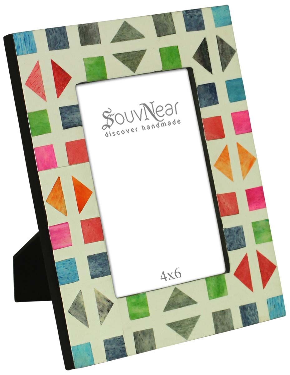 4x6 Inches Multicolored Picture Frame in Bulk - Wholesale Handmade ...