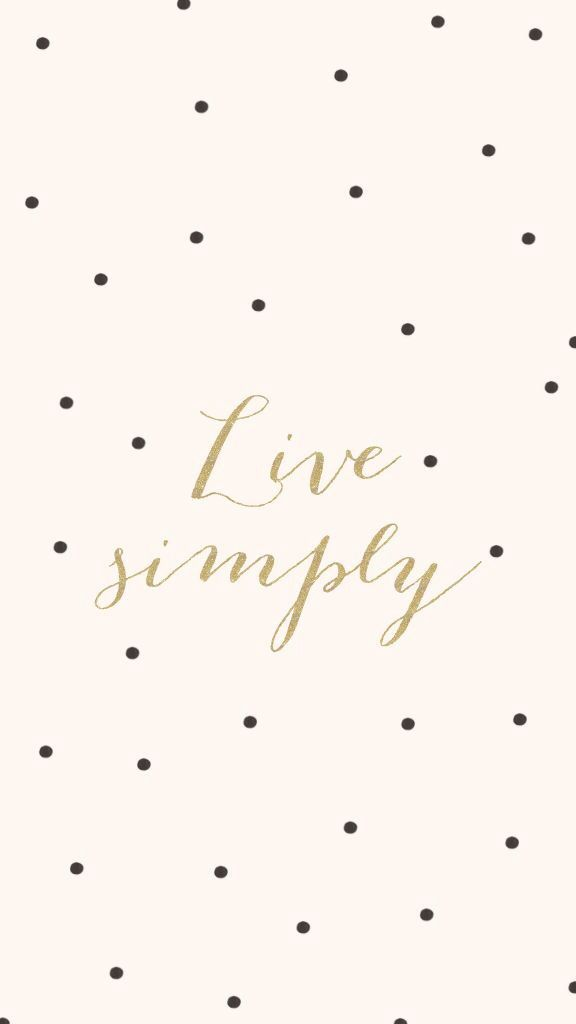 Live simple iPhone background