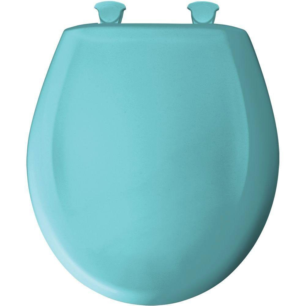 Wondrous Bemis Round Closed Front Toilet Seat In Surf Green 529693 Pdpeps Interior Chair Design Pdpepsorg