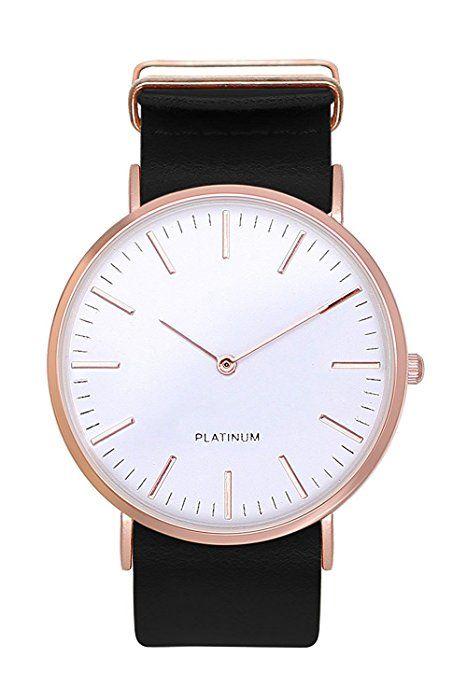 Armbanduhr silber rotgold
