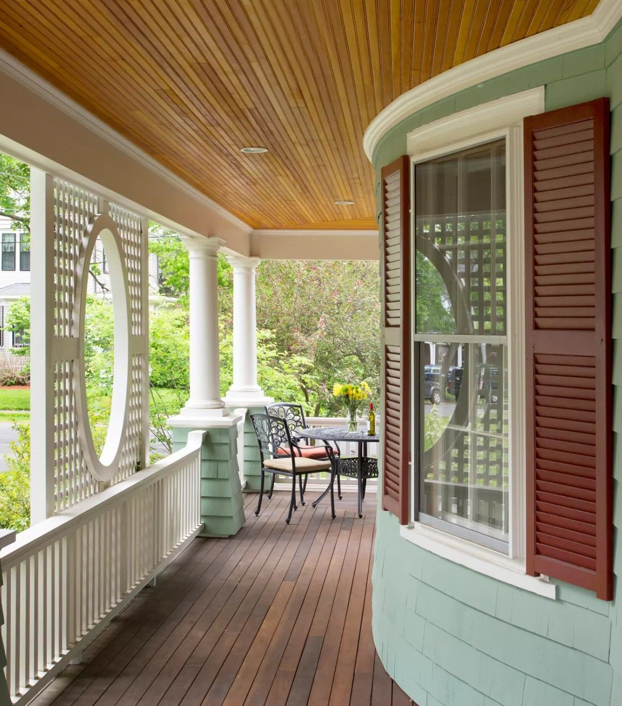 Best Pin By Rhonda On Old Homes Craftsman Exterior Deck 400 x 300