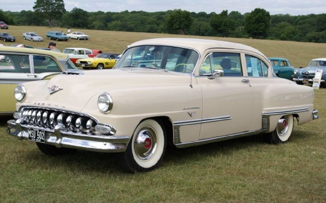 1953 DeSoto Firedome Club Coupe (With images) Desoto cars