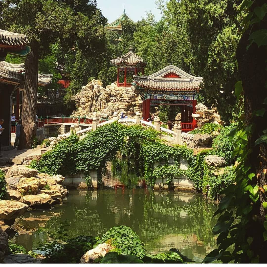 Parque Beihai, Beijing, China. #todochino #conocerchina ...
