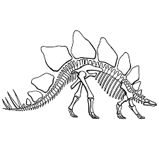 Kleurplaten Dino Skeletten.Resultat De Recherche D Images Pour Dino Skelet Kleurplaat