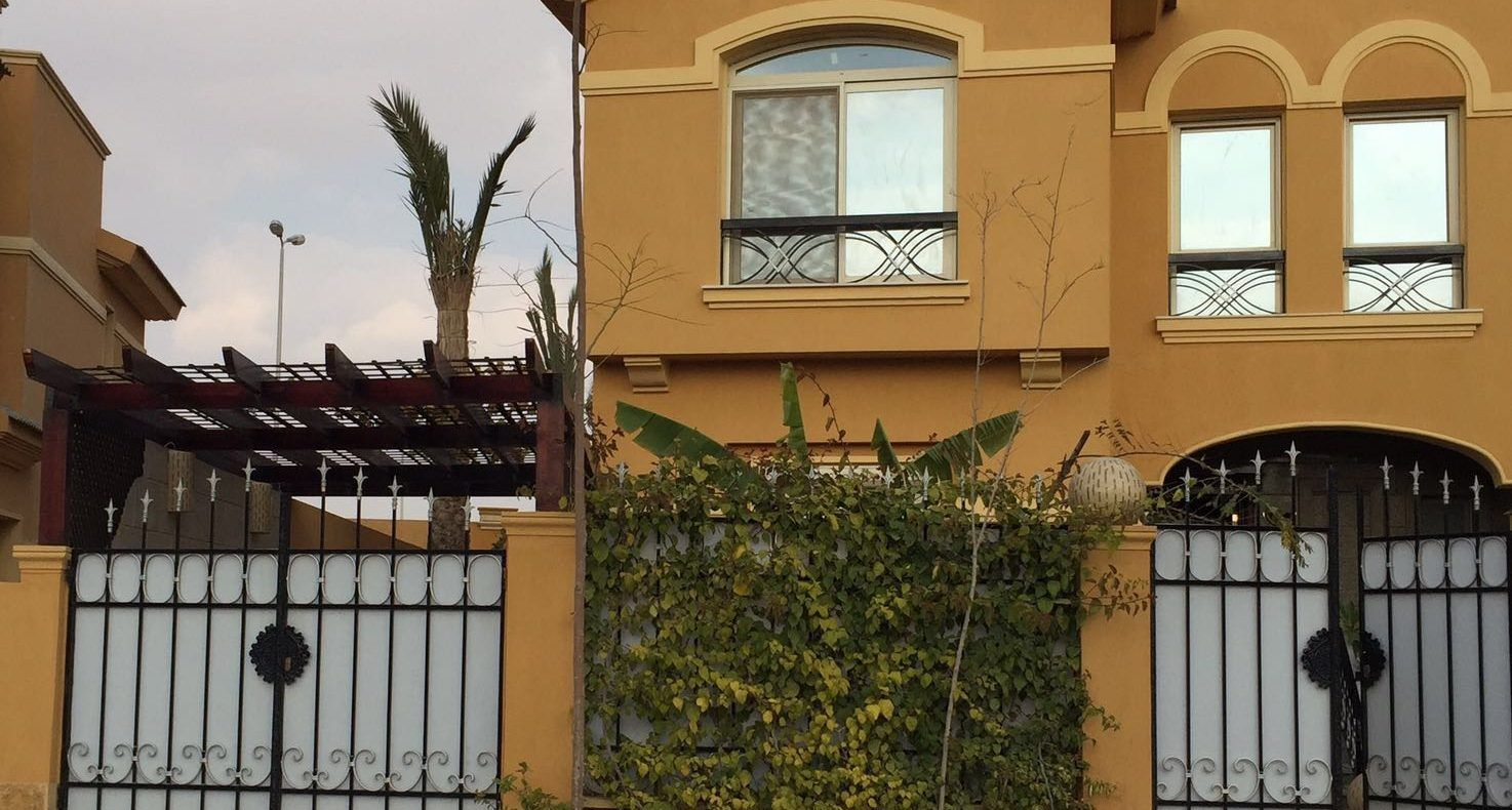 Brand new twin house 4 rent in diar compound new cairo