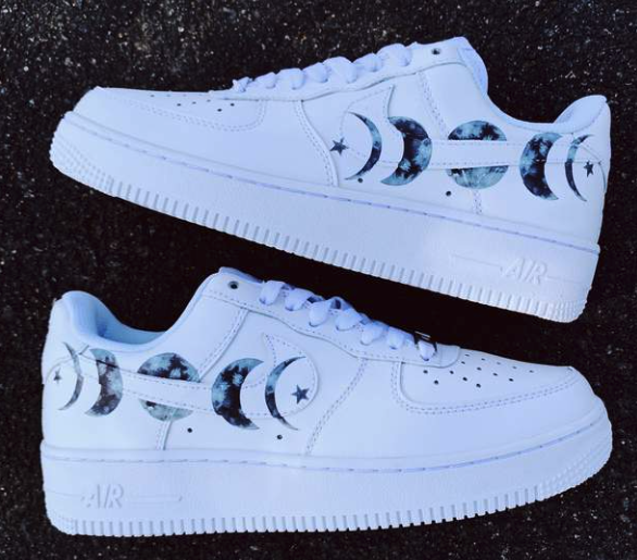 To the Moon AF1 Custom Each individual pair is handcrafted to ...