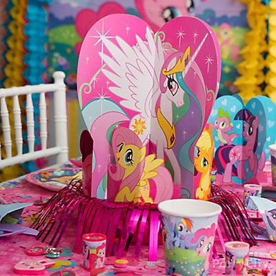 They Ll Prance For A Perfect Pony Centerpiece My Little Pony