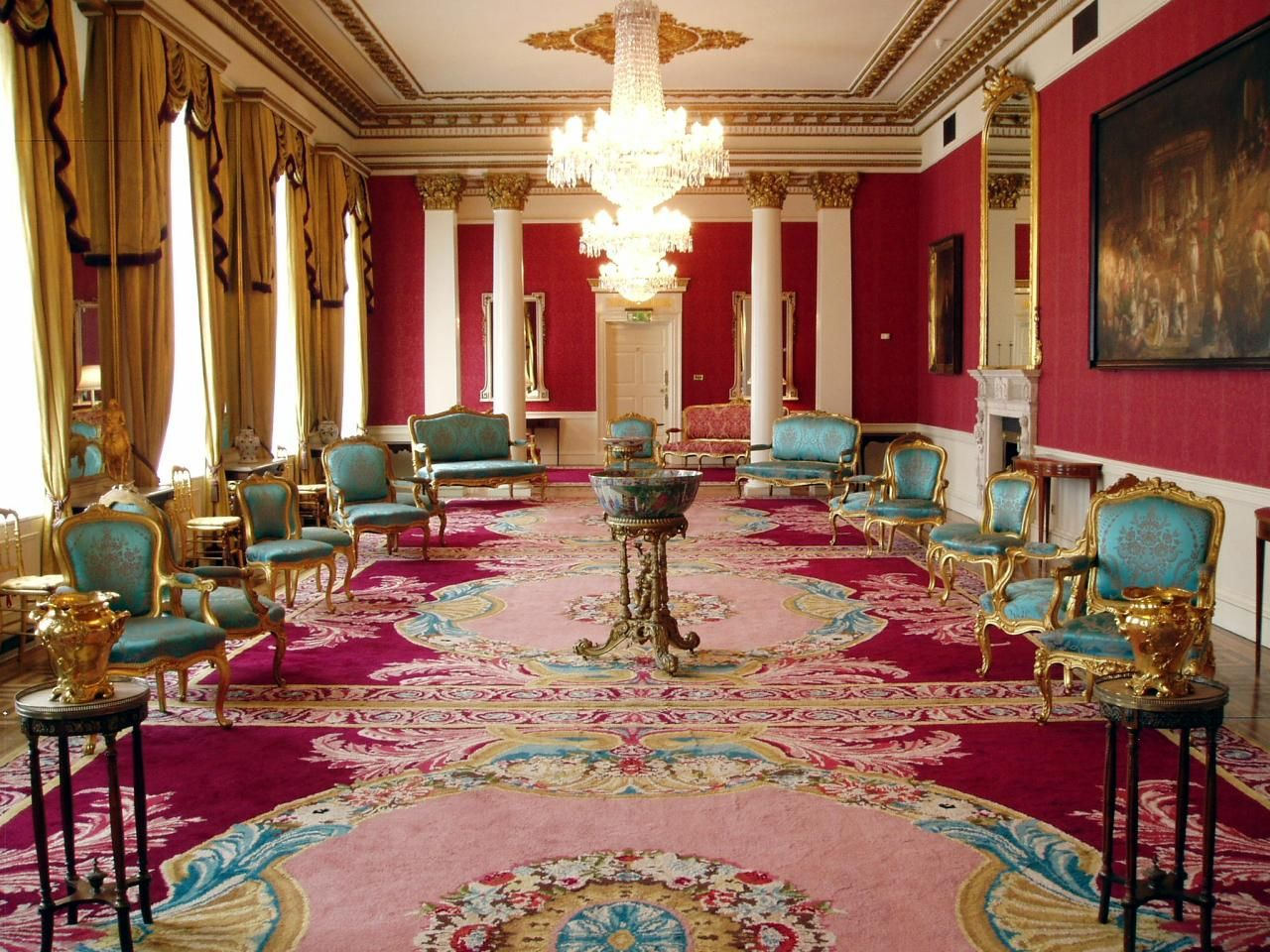 The rawing room in dublin castle one of a series of luxurious rooms the rawing room in dublin castle one of a series of luxurious rooms built in dzzzfo