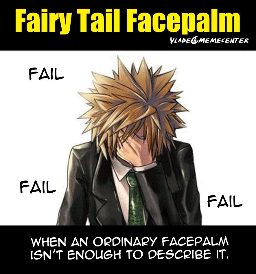fairy tail memes