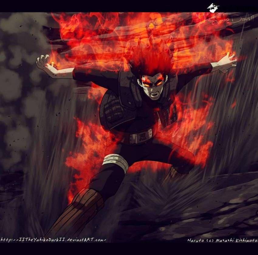 Guy Vs Madara Komik Naruto Naruto Manga