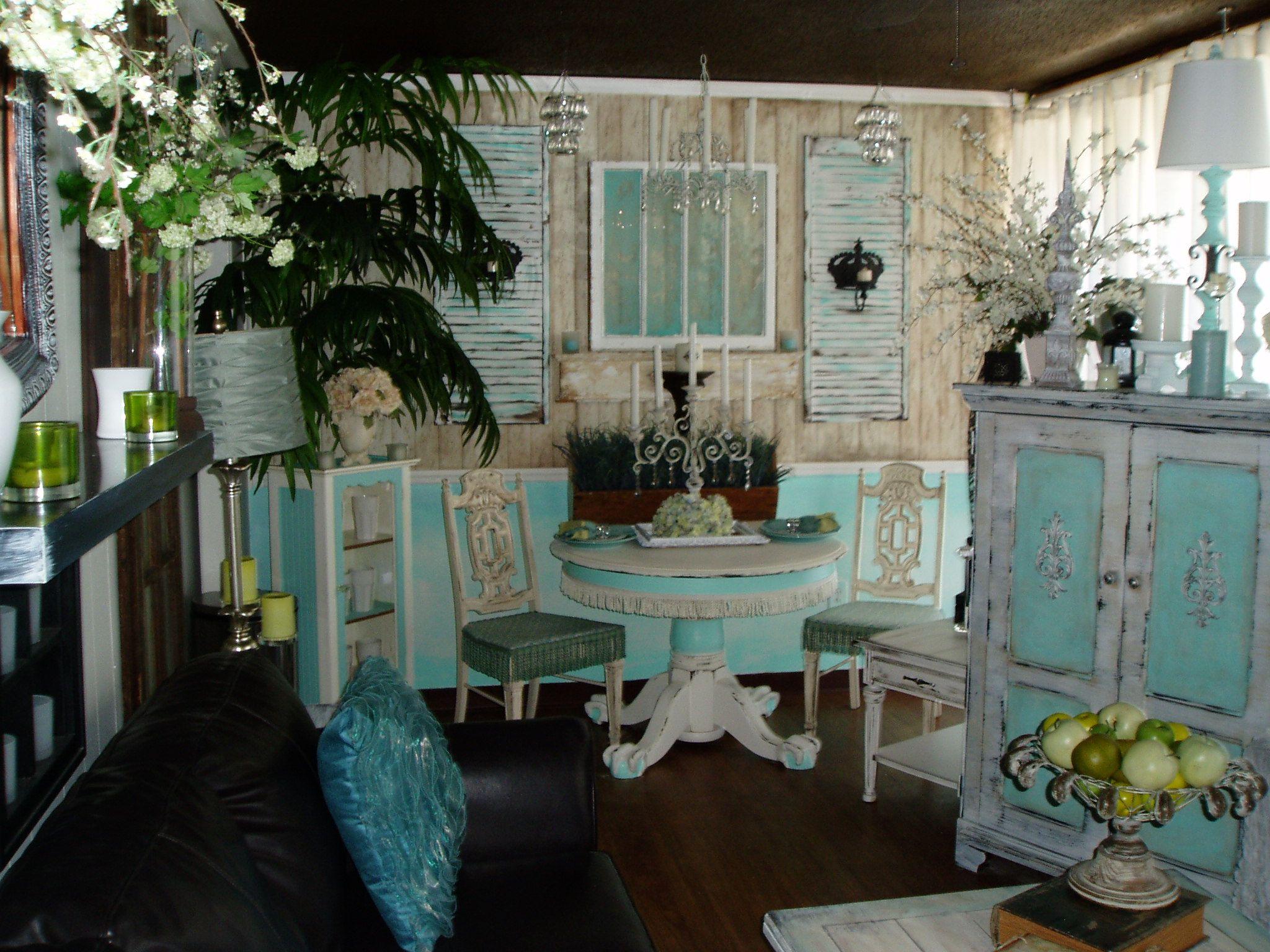 My New Shabby Chic Living Dining Room Shabby Chic Living
