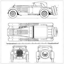 Resultado de imagem para blueprints classic cars