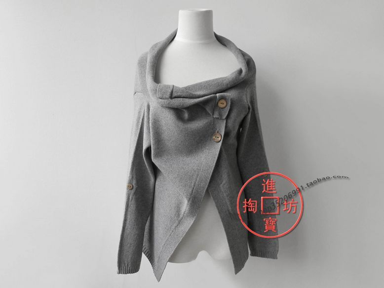 097c96 handmade irregular style cape cloak paragraph wool blending cape paragraph sweater-in Sweaters from Apparel & Accessories on Aliexpress.com