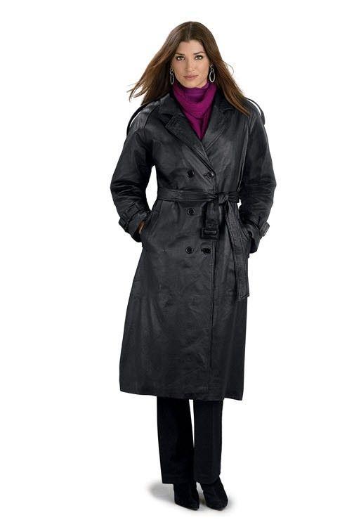 Slikovni rezultat za mens leather trench coat full length ...
