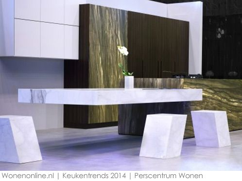 Keukentrends kitchen cuisine contemporaine maison