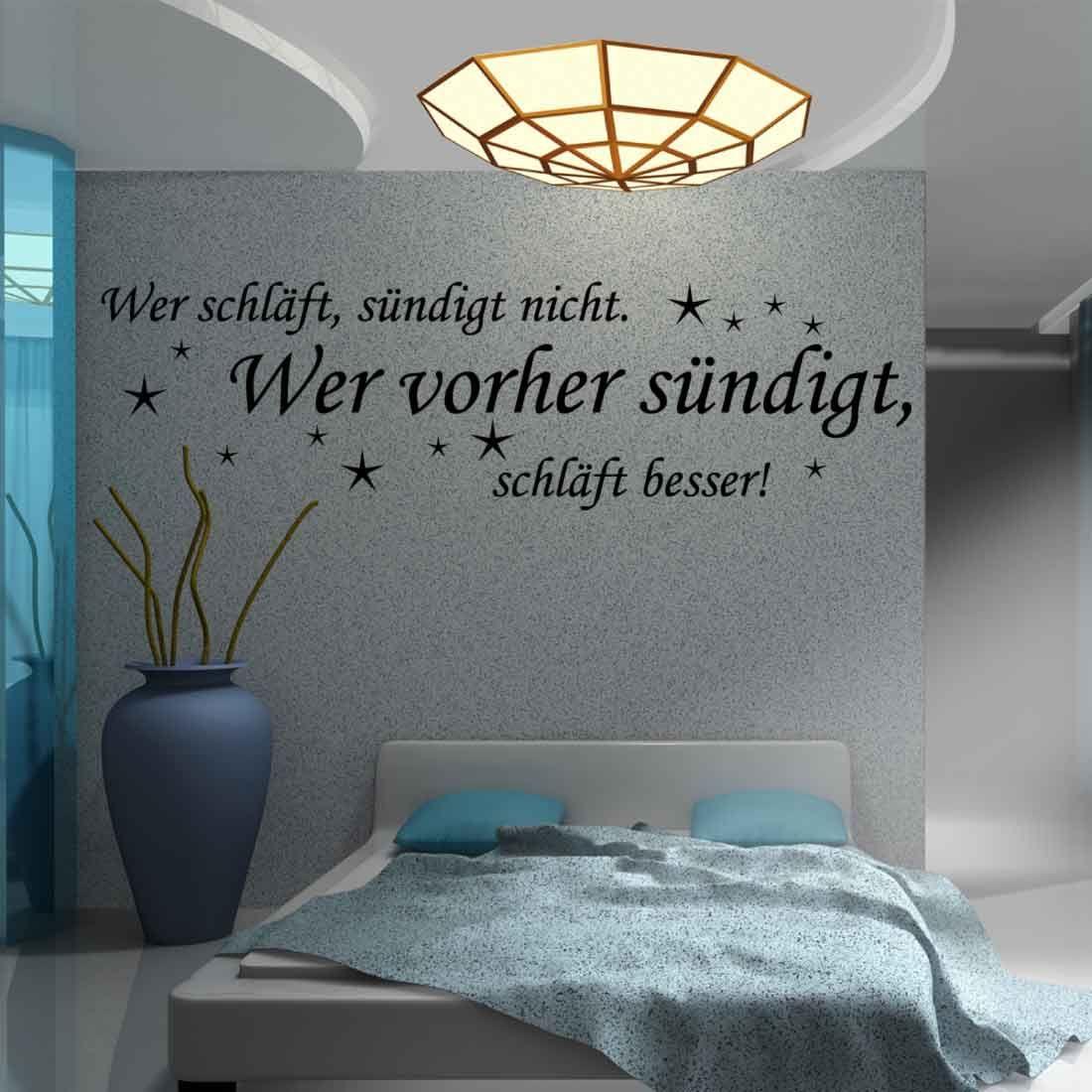 Wer schläft, sündigt nicht. Wer vorher sündigt, schläft besser! Sehr ...