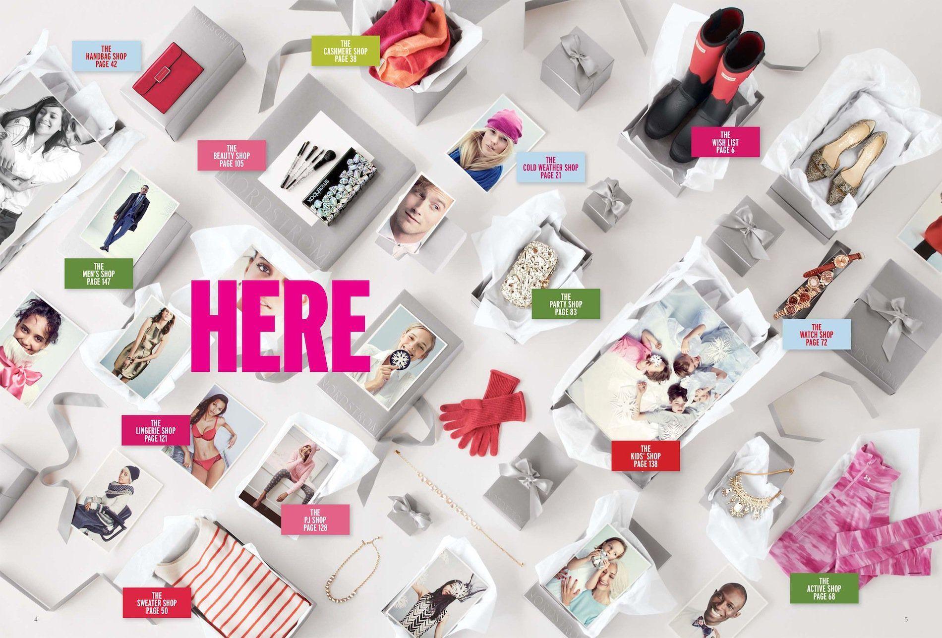 Nordstrom November 2014 Parties and Presents Catalog | Holiday ...