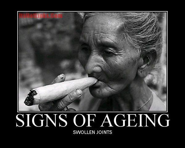 swollen joints..lol