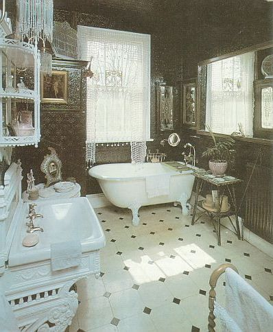Traditional Bathroom Styles With Outstanding Furniture And Floor Tiles