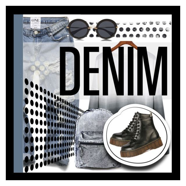 """Denim"" by elisapar ❤ liked on Polyvore featuring Kerr®"