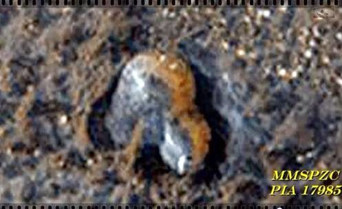 MARTE - A imagem mais nítida da NASA de uma Construção em forma de Cúpula ( Base Alien ?)