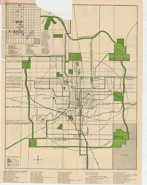 Oklahoma city map 1929 been there done that pinterest city oklahoma city map 1929 i miss going to see my great grandmother in the city gumiabroncs Images