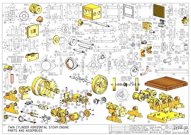 Engineering Drawings Pdf Google Search Mechanical Projects Drawings Technical Drawing