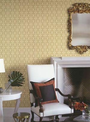 empress fine decor wallpaper #gold #artdeco #homedecor #wallpaper ...