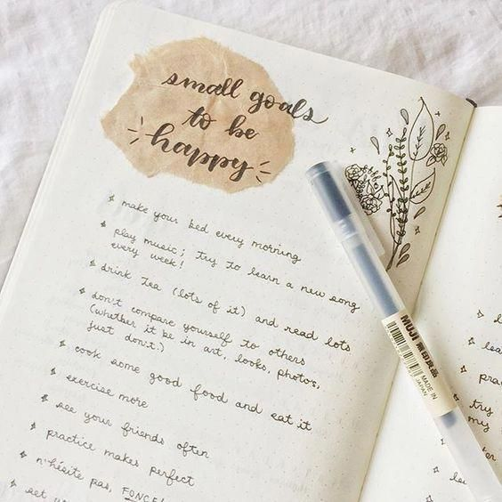 20 Minimalist Bullet Journal Ideas #ScrapbookMariage
