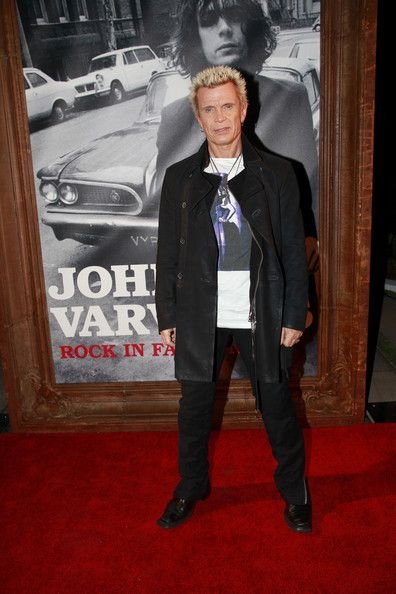 Billy Idol Photos - John Varvatos Celebrates His New Book - Zimbio