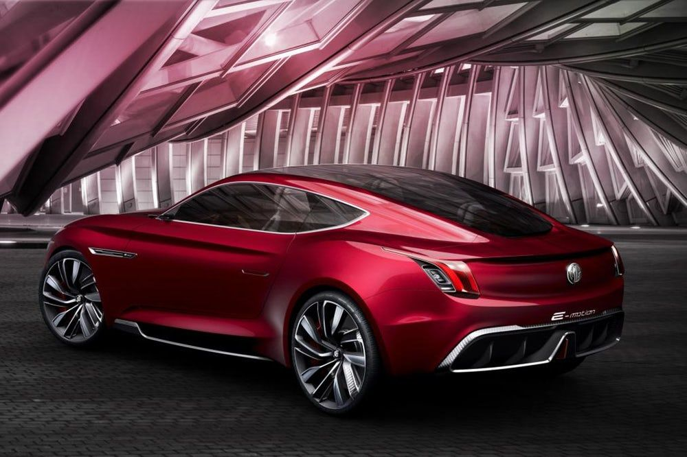 Mg Digs Up Its Sporty Roots With All Electric E Motion Concept Electric Sports Car Electric Car Concept Car
