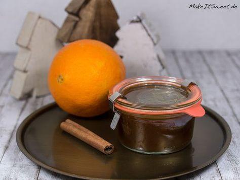 Orangen-Spekulatius-Marmelade Rezept - geschenke aus der küche weihnachten