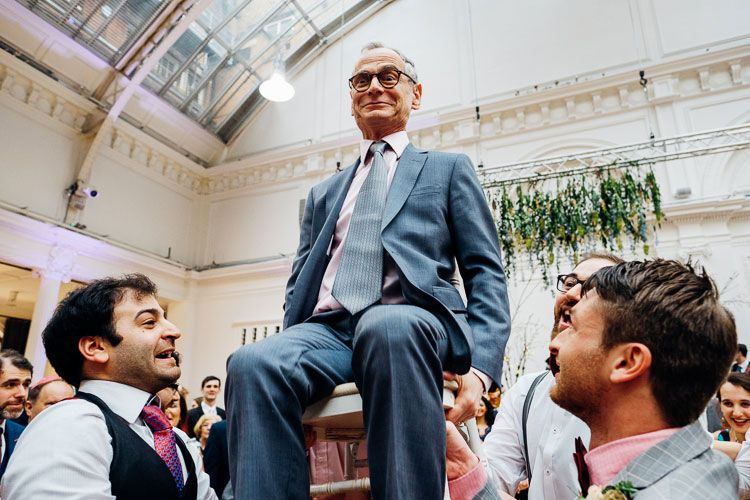 Hilarious and adorable photo of the grandfather doing the chair dance! | cute and quirky London Jewish wedding | Smashing the Glass Jewish wedding blog  sc 1 st  Pinterest & A Cute and Quirky Springtime Jewish Wedding With a Blush Watters ...