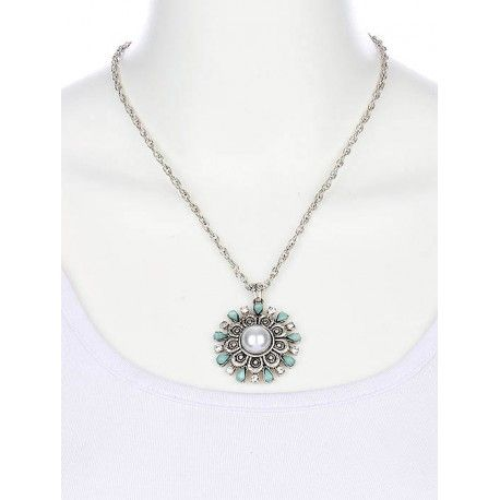 www.allaboutyougifts.com/#lisamcmorris- Aged Finish Floral Necklace