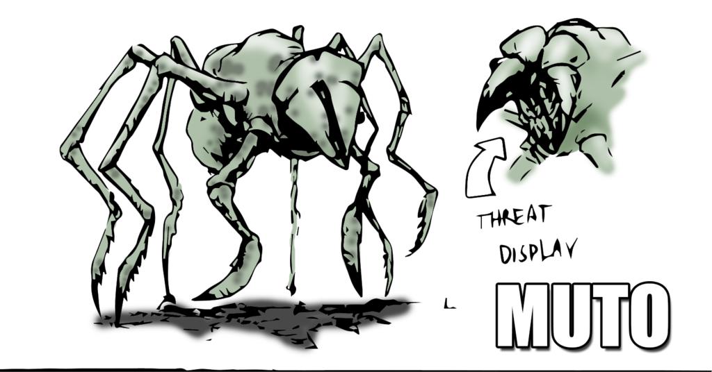 MUTO Monster Fan Art