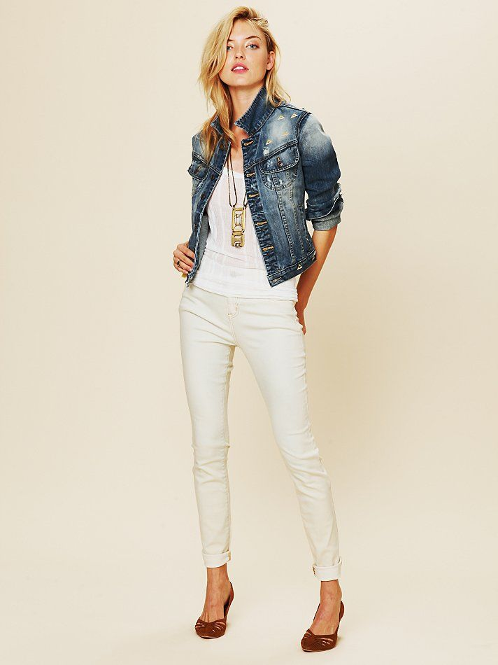 Free People FP High Rise Skinny, $78.00