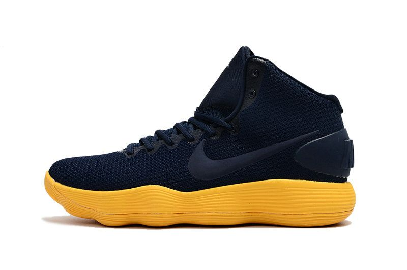 854279902c1b Free Shipping Only 69  Nike Hyperdunk 2017 EP blue black yellow ...