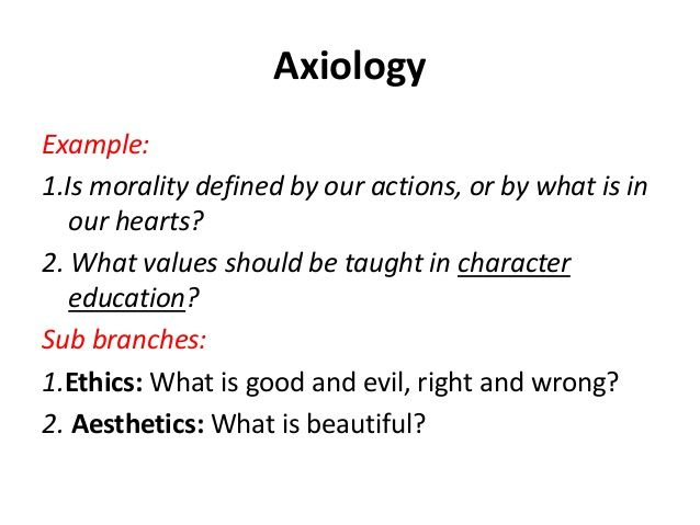 10 Axiology Axiology Character Education Education