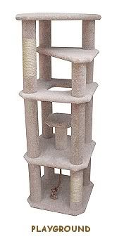 Cool Cat Tree Plans Help You Build Your Own Cat Tree Like This Tall Kitty Playground Rrrcattreeplans