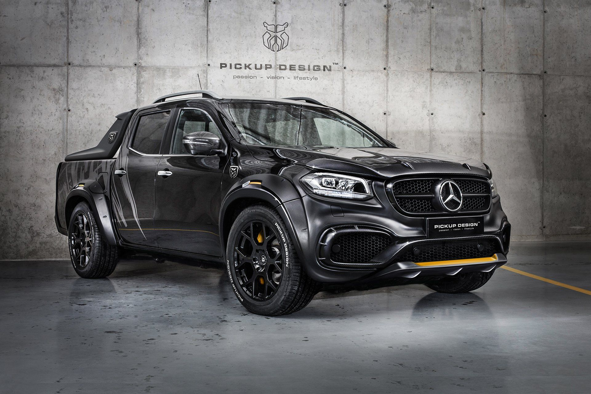 Beauty And The Beast Mercedes X Class Gets Two Tuning Jobs From Carlex Carscoops Custom Mercedes Custom Mercedes Benz Benz