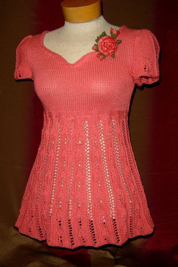 Coraline suéter que hace punto patrones-PDF | tejido | Pinterest ...