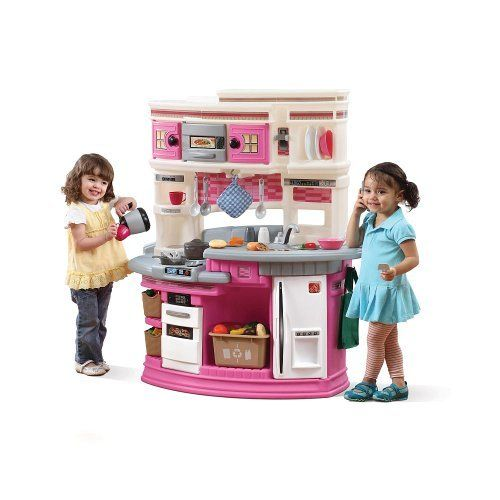 Remarkable Lifestyle Legacy Kitchen Pink By Step2 159 50 Fun Size Download Free Architecture Designs Jebrpmadebymaigaardcom