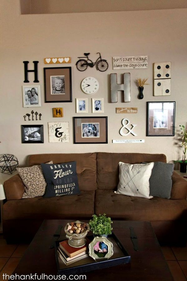 Best Family Picture Wall Decoration Ideas 37 Home Decor Decor